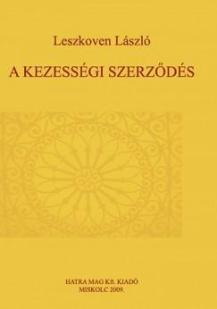 Leszkoven László - A kezességi szerződés
