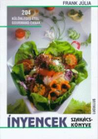 Frank Júlia - Ínyencek szakácskönyve