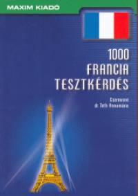 Csernusné Tóth Annamária - 1000 francia tesztkérdés
