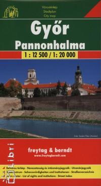 - Győr - Pannonhalma várostérkép