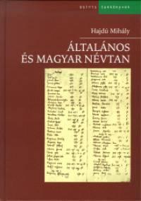 Hajdú Mihály - Általános és magyar névtan