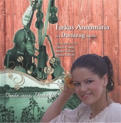Dunazug - Farkas Annamária - Dunán innen, Dunán túl  - Könyv + CD
