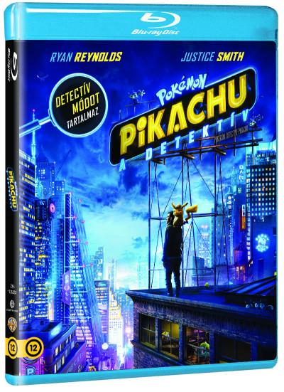 Rob Letterman - Pokémon - Pikachu, a detektív - Blu-ray