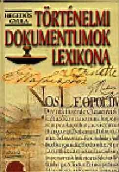 Hegedűs Gyula - Történelmi dokumentumok lexikona