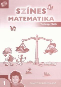 Nagy-Baló András - Színes matematika 1. - Tudáspróbák