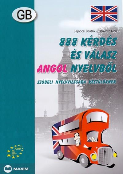 Bajnóczi Beatrix - Haavisto Kirsi - 888 kérdés és válasz angol nyelvből