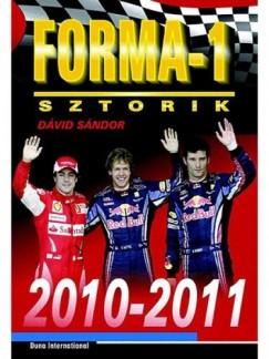 Dávid Sándor - Forma-1 sztorik, 2010-2011