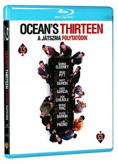 Steven Soderbergh - Ocean's Thirteen - A játszma folytatódik (Blu-ray)