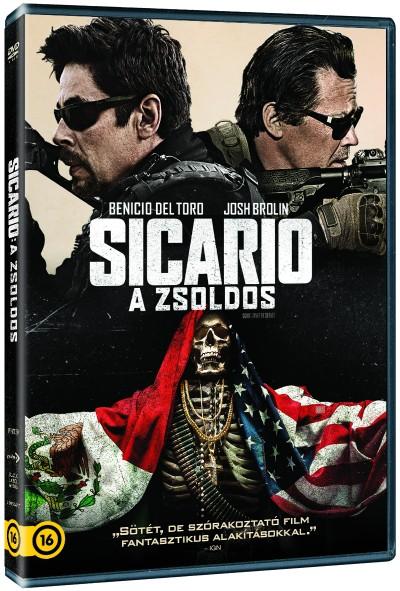Stefano Sollima - Sicario 2 - A zsoldos - DVD