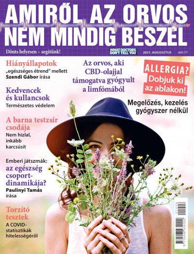 Molnár Gabriella  (Szerk.) - Amiről az orvos nem mindig beszél - 2021. augusztus