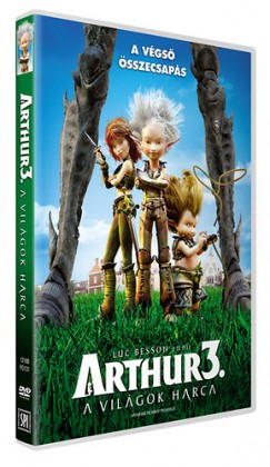 Luc Besson - Arthur 3. - A világok harca - DVD