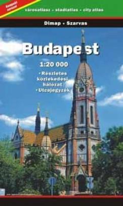 - Budapest 1:20 000