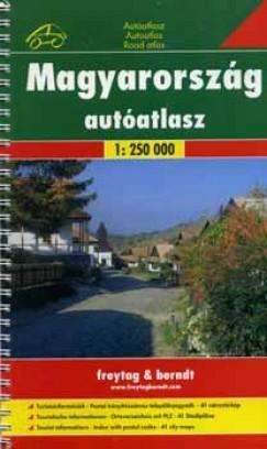 - Magyarország autóatlasz 1:250 000