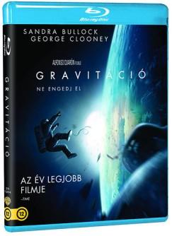 Alfonso Cuarón - Gravitáció (Blu-ray)