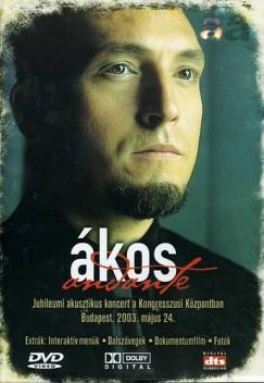 Kovács Ákos - Andante - Jubileumi akusztikus koncert - DVD