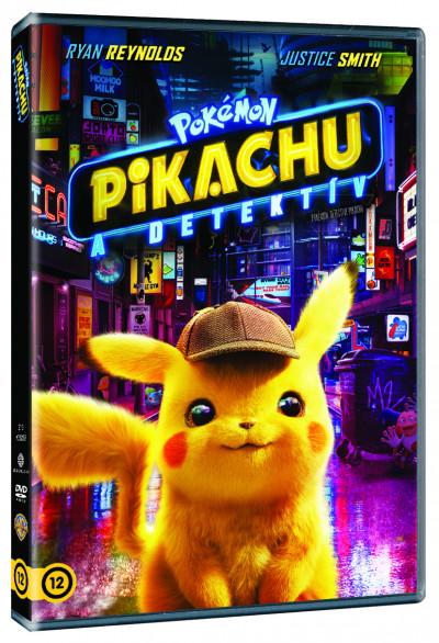 Rob Letterman - Pokémon - Pikachu, a detektív - DVD