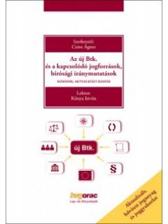 Czine Ágnes  (Szerk.) - Az új Btk. és a kapcsolódó jogforrások, bírósági iránymutatások