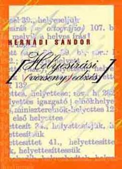 Hernádi Sándor - Helyesírási (verseny)edzés