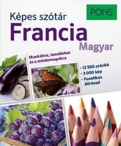 Temesvári Zsolt  (Szerk.) - PONS Képes szótár - Francia