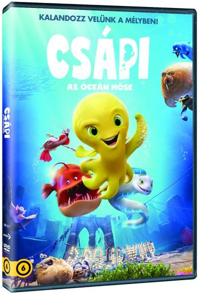 Julio Soto Gurpide - Csápi, az óceán hőse - DVD