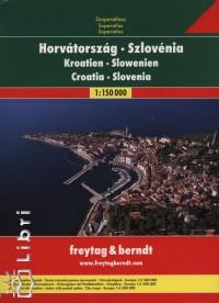- Horvátország, Szlovénia szuperatlasz