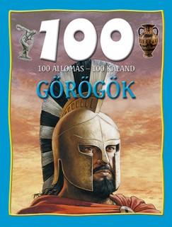 Fiona Macdonald - 100 állomás - 100 kaland - Görögök