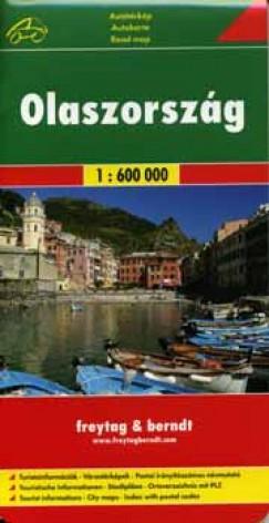 - Olaszország atlasz spirál 1:225 000