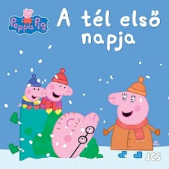 - Peppa malac - A tél első napja