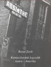 Bayer Zsolt - Kamaszkorunk legszebb nyara - Amerika