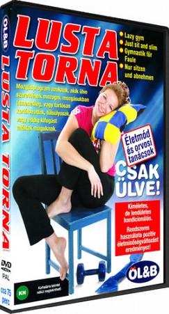 Kissné Rácz Gabriella  (Összeáll.) - Lusta torna - DVD