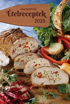 - Ételreceptek falinaptár - 2020