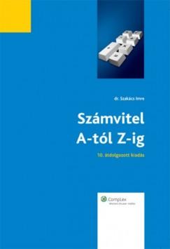 Imre Szakács - Számvitel A-tól Z-ig (2012) - 10. bővített, átdolgozott kiadás