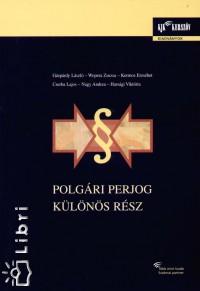 Cserba Lajos - Gáspárdy László - Kormos Erzsébet - Wopera Zsuzsa - Polgári perjog - Különös rész