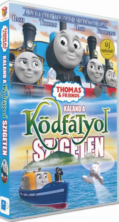 Greg Tiernan - Thomas és barátai - Kaland a Ködfátyol szigeten - DVD