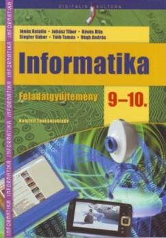 Kévés Rita - Siegler Gábor - Tóth Tamás - Végh András - Informatika feladatgyűjtemény 9-10.