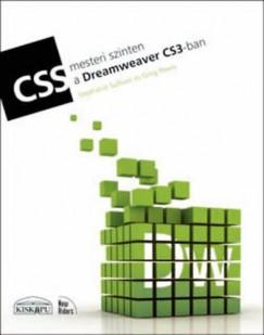 Greg Rewis - Stephanie Sullivan - CSS mesteri szinten a Dreamweaver CS3-ban