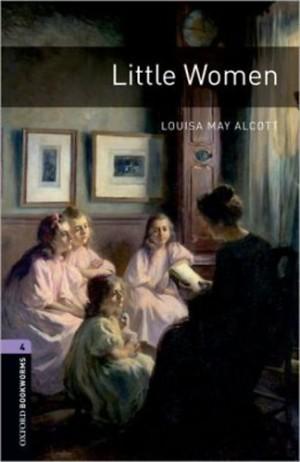 Louisa May Alcott - LITTLE WOMEN -OXFORD BOOKWORMS 4 - CD INSIDE