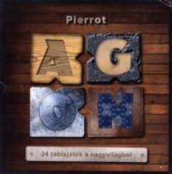 Pierrot - Agon - 24 táblajáték a nagyvilágból