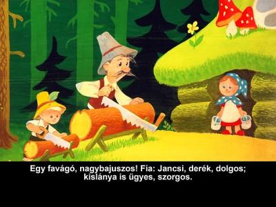 Grimm Testvérek - Jancsi és Juliska - Diafilm