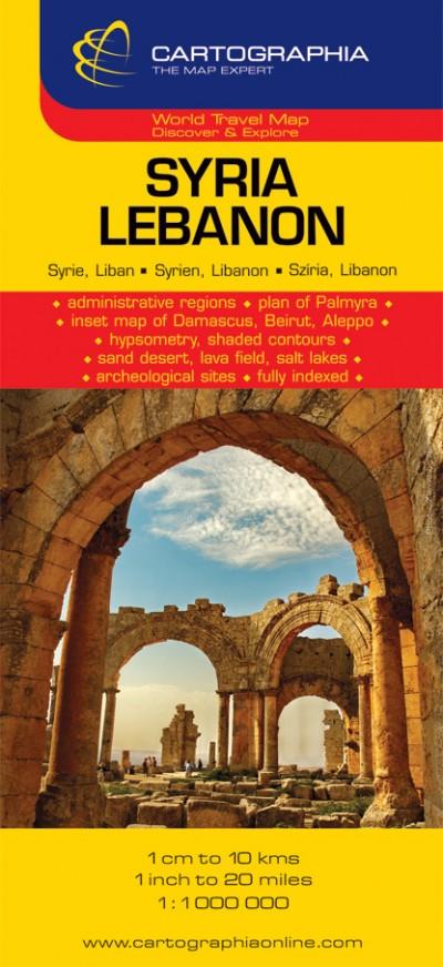 """- Syria - Lebanon 1:1 000 000 """"SC"""""""