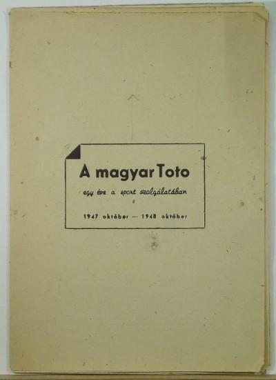 - A magyar Toto