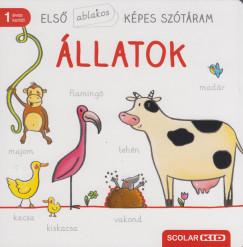- Első ablakos képes szótáram - Állatok