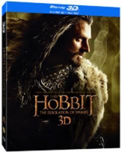 Peter Jackson - A hobbit: Smaug pusztasága - 3D BD lentikuláris