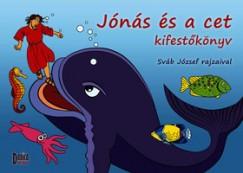 - Jónás és a cet kifestőkönyv