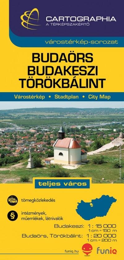 - Budaörs, Budakeszi, Törökbálint várostérkép