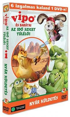- Vipo és barátai - Az Idő Sziget túlélői 2. - Nyár küldetés - DVD
