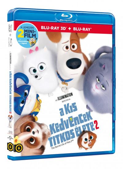 Jonathan Del Val - Chris Renaud - A kis kedvencek titkos élete 2 - Blu-ray 3D + Blu-ray