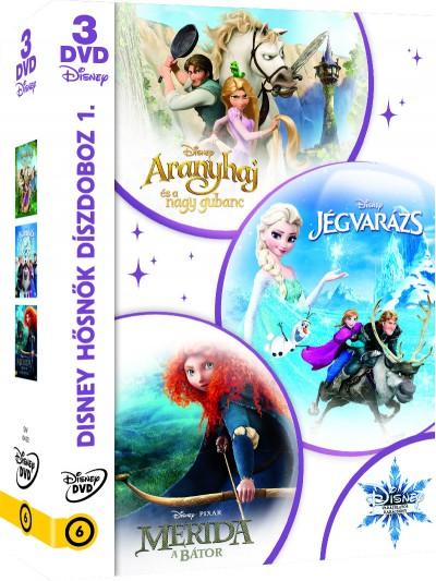 Chris Buck - Byron Howard - Disney hősnők díszdoboz 1. - DVD