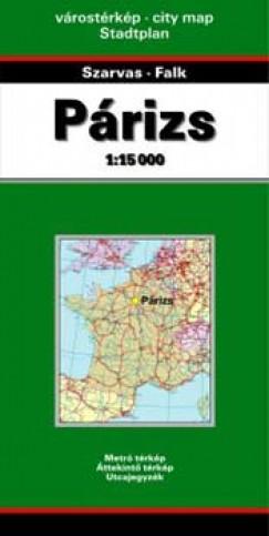 - Párizs 1:15 000