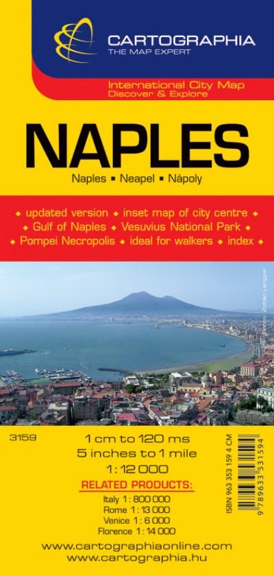 - NAPLES 1:12 000 térkép